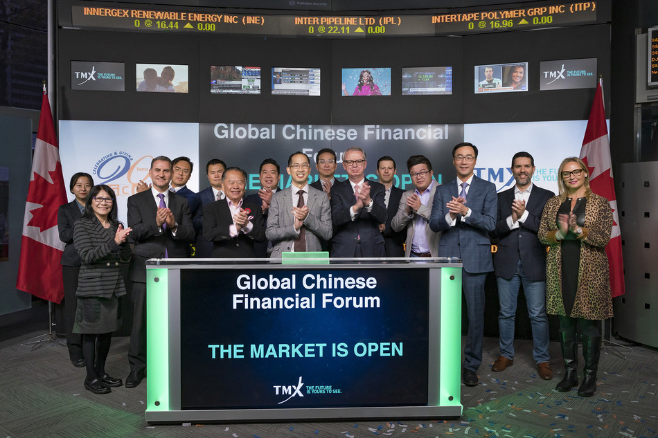 Global Chinese Financial Forum Opens the Market (CNW Group/TMX Group Limited)