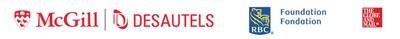 Logos : Faculté de gestion Desautels de l'Université McGill, RBC, The Globe and Mail (Groupe CNW/RBC BANQUE ROYALE)