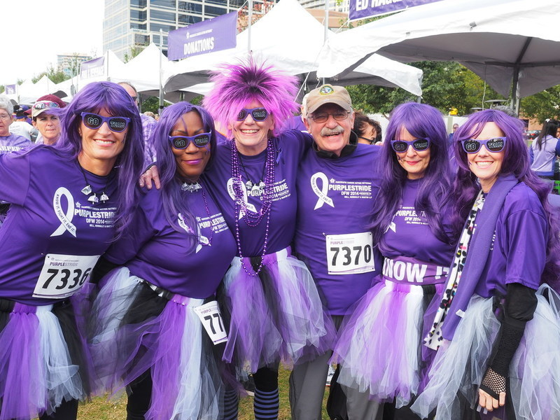 Join the fight against pancreatic cancer on Nov. 9th at PurpleStride DFW 2019!