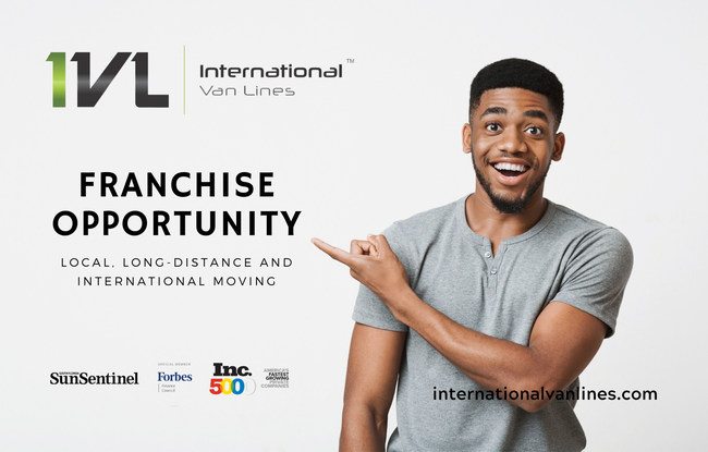 International Van Lines is now offering a franchise opportunity in the moving industry.