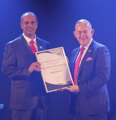 Dubai Customs Wins EFQM Innovation Platinum Award
