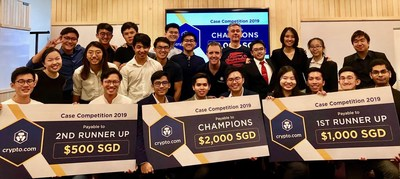 Crypto.com hosted the first of its kind competition to accelerate the world's transition to cryptocurrency
