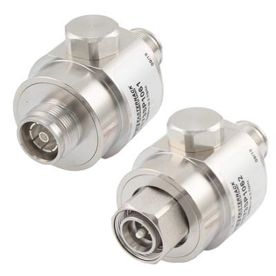 Pasternack推出配置4.3-10连接器的同轴射频浪涌保护器新产品线