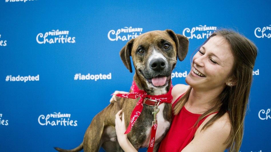 During National Adoption Weekend, PetSmart Charities invites thousands of local humane societies, SPCAs and pet rescue organizations to bring adoptable pets into PetSmart stores across the U.S., Canada and Puerto Rico so that they have the best chance possible of finding a forever home.