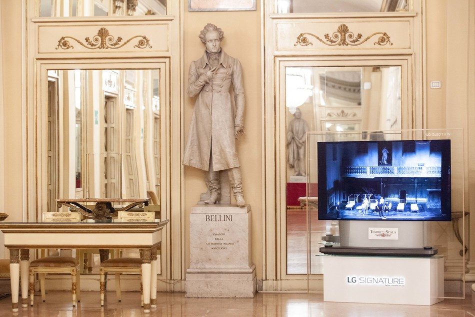 LG SIGNATURE Strengthens Ultra-premium Presence in the Arts with the Collaboration with La Scala