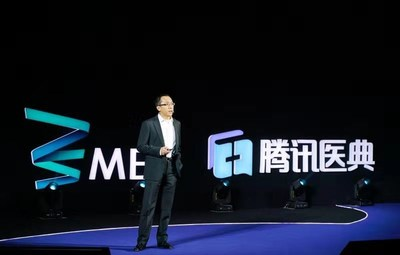 Mr. Zhang Meng at Tencent Medical ME Summit