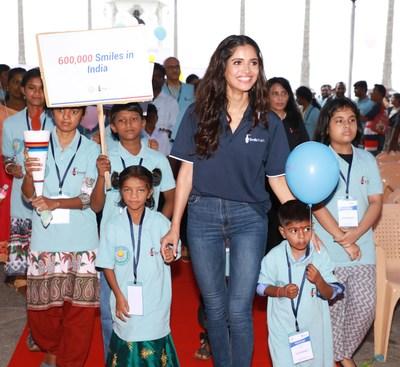 Vartika Singh, Miss Diva Universe 2019 and NGO Smile Train India