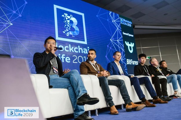 Garret Jin finalized his presentation saying that there were plenty of potential of Blockchain business with lots of difficulty to overcome.