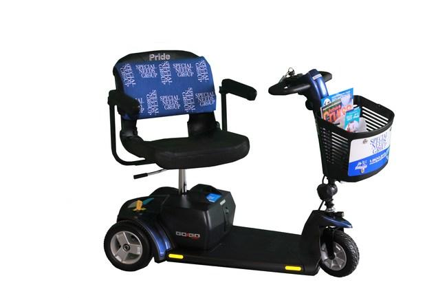 Scooter grupal de necesidades especiales con cojín Soothie