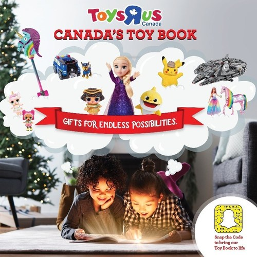 """Toys""""R""""Us Holiday Toy Book released digitally on November 1 and in print on November 4 (CNW Group/Toys """"R"""" Us (Canada) Ltd.)"""