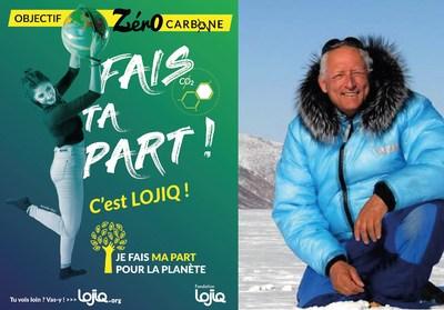 L'explorateur et conférencier Bernard Voyer procèdera au lancement officiel du programme « Objectif zéro carbone » de la Fondation LOJIQ le mercredi 6 novembre à partir de 18h à l'Olympia de Montréal. (Groupe CNW/Les Offices Jeunesse Internationaux du Québec)
