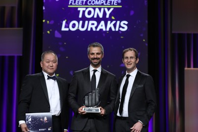 Tony Lourakis, the founder and CEO of Fleet Complete, is named a winner in the Technology category of the EY Entrepreneur Of The Year® 2019 Awards Ontario program. (CNW Group/Fleet Complete)