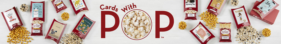 Introducing Cards With Pop from The Popcorn Factory
