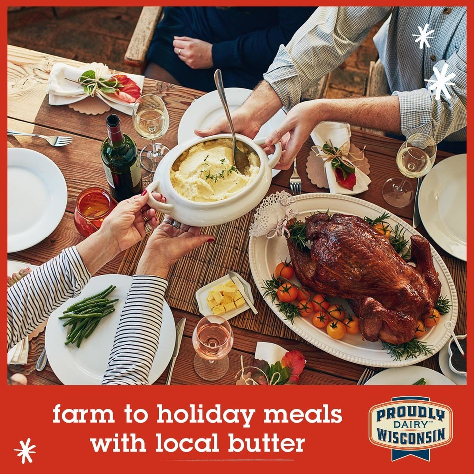 Looking to raise the bar on this year's holiday cooking and baking? Warm cookies and pies always taste better with local Wisconsin butter, and that will make you the star of all your holiday gatherings! Check the label to make sure you're buying local Wisconsin butter this holiday season.