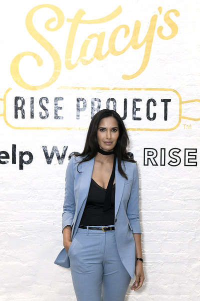 NEW YORK, NEW YORK - NOVEMBER 04: Ahead of Womens Entrepreneurship Day, entrepreneur Padma Lakshmi partners with Stacy's Pita Chips to celebrate female founders in the food and beverage industry at a luncheon marking the culmination of the inaugural Stacys Rise Project on November 04, 2019, in New York City. (Photo by Eugene Gologursky/Getty Images for Stacy's Pita Chips)