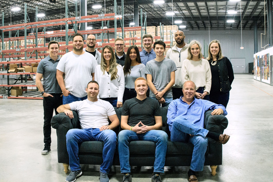The eFuse team is pictured with Ohio Innovation Fund and Moby Dick Unlimited. Both companies have been instrumental in scaling eFuse.