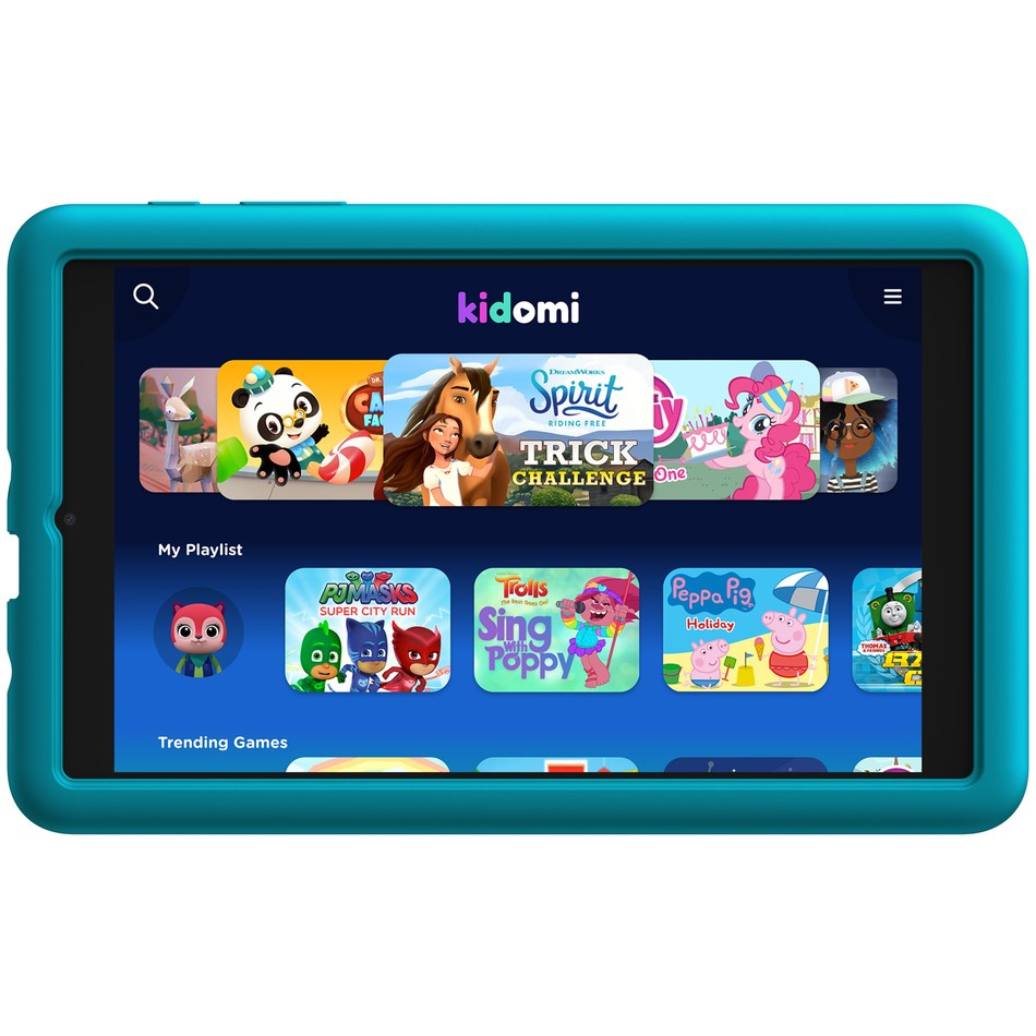 The Alcatel JOY TAB KIDS offers a fun and educational Android tablet experience for children (PRNewsfoto/Alcatel)