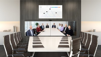 With Cisco Webex Room Panorama, global teams will feel like they are sitting in the same space together. Its rich content collaboration, integrations and AI features make meetings meaningful and actionable.