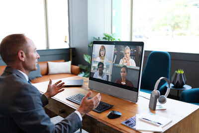 Cisco Webex Desk Pro squeezes all the high-end features you find in our award-winning portfolio into a 27-inch, 4K touchscreen device with a USB-C connection.