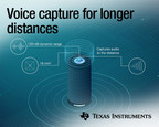 No more yelling at smart speakers: New TI Burr-Brown™ audio ADC enables far-field voice capture at four times the distance