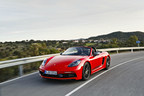 The 2020 Porsche 718 Boxster T and 718 Cayman T