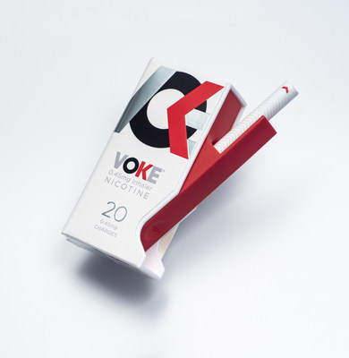 Pictured above is the Voke® nicotine inhaler, launched this week by Kind Consumer Ltd.