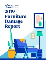 SquareTrade 2019 Furniture Damage Report Infographic