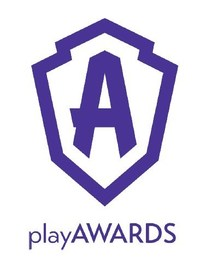 playAWARDS Logo (PRNewsfoto/playAWARDS)