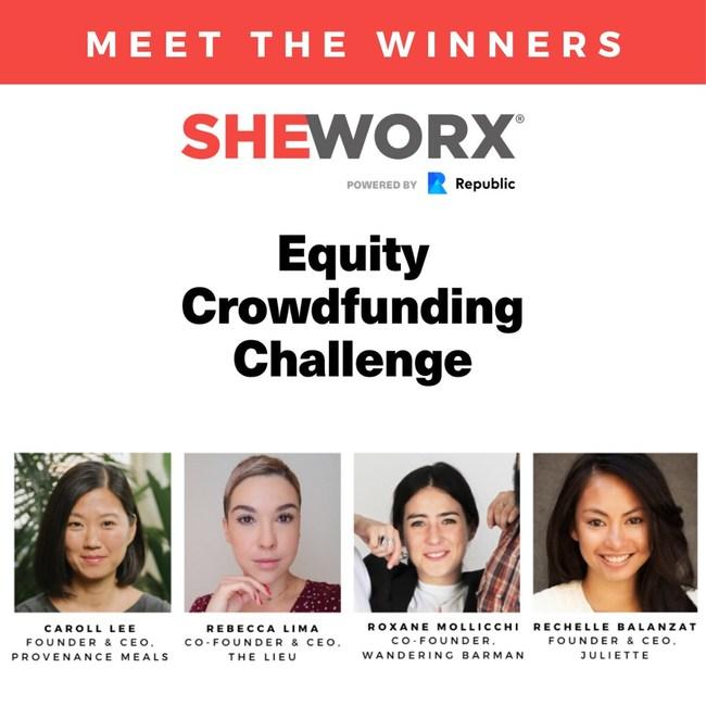 , Republic Announces Winners of the SheWorx Equity Crowdfunding Challenge, Blockcast.cc- Blockchain, DLT, Crypto News