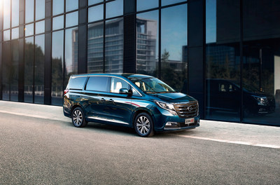 Flagship MPV GN8 will be launched in the Middle East at GAC Motor's press conference