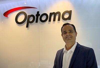 Optoma's New India head Vijay Kumar Sharma