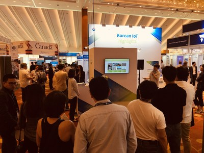 Picture - 2019 IoT Roadshow IR pitching - SINGAPORE