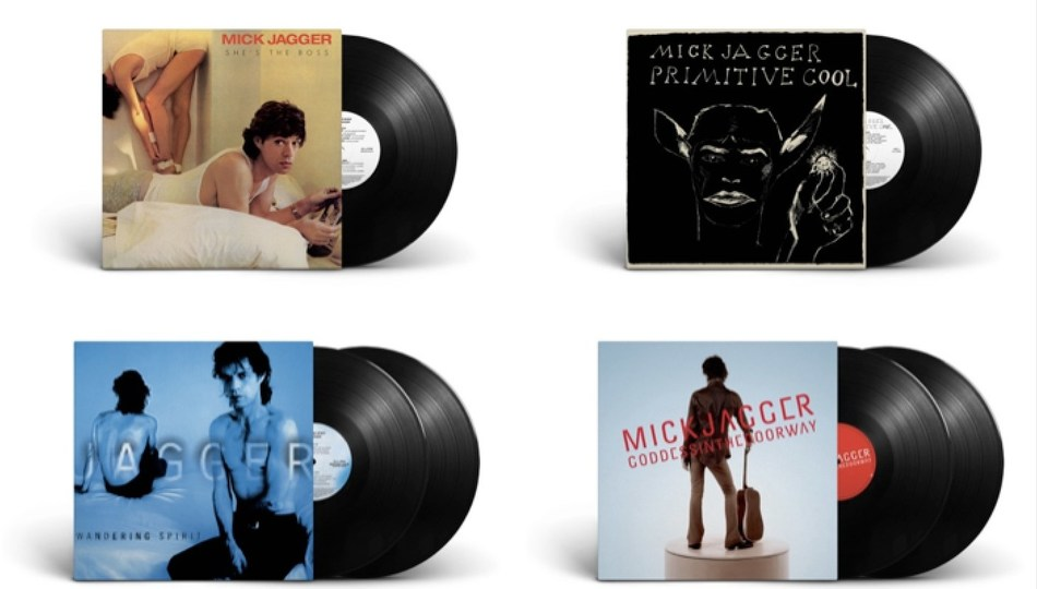 Mick Jagger Solo Album Catalog Comes To 180-Gram, Half-Speed Remastered Vinyl To Be Released On December 6