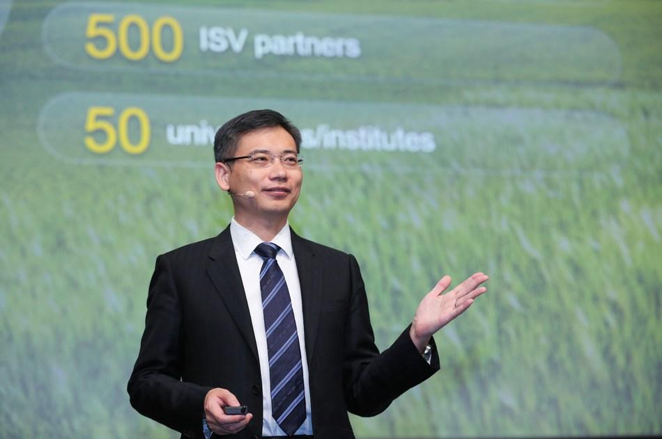 Jiang Tao, VP of Intelligent Computing BU