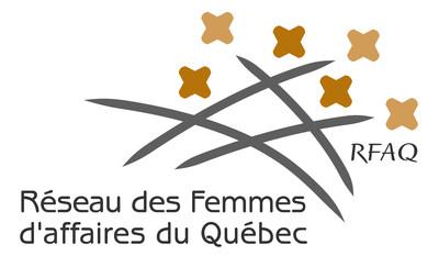 Logo : Réseau des Femmes d'affaires du Québec (Groupe CNW/Réseau des Femmes d'affaires du Québec Inc.)