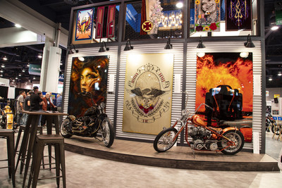 Sherwin-Williams Automotive Finishes Booth No. 10839 in the North Hall of the Las Vegas Convention Center at the 2019 SEMA Show.