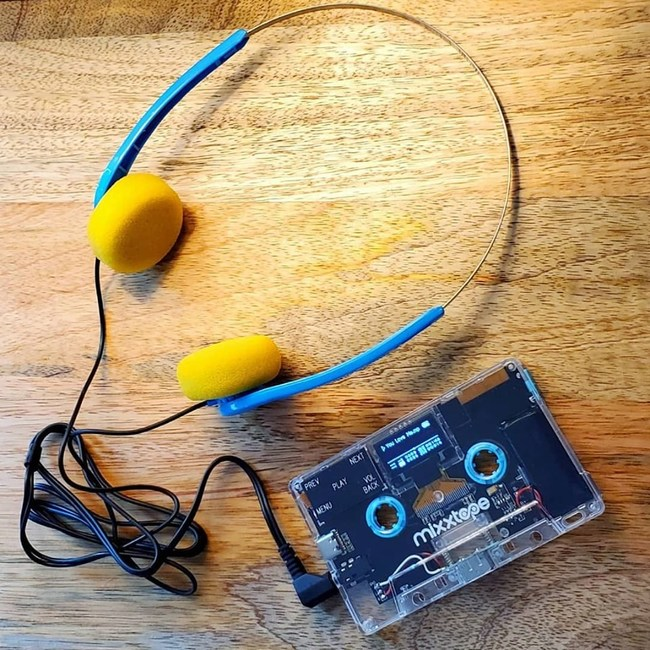MIXXTAPE with Wired Headphones