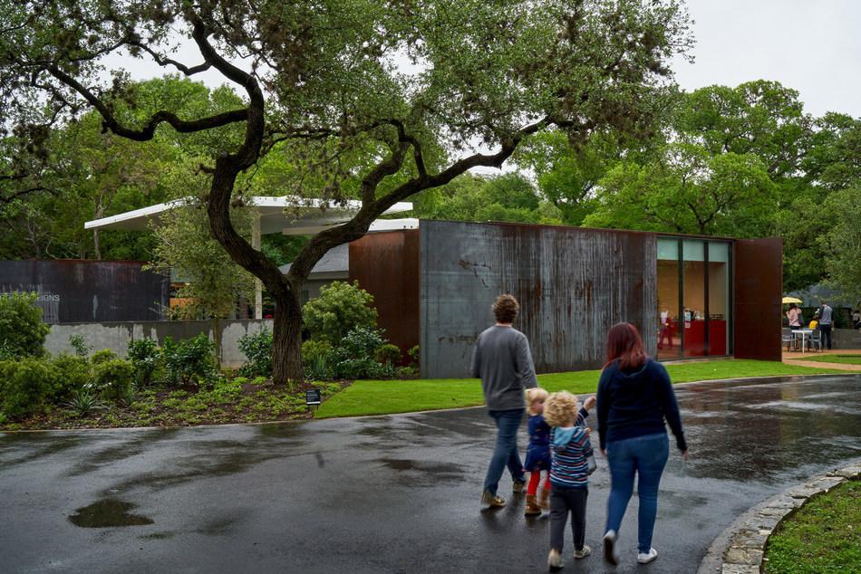 Moody Pavilions at Laguna Gloria (PRNewsfoto/Trahan Architects)