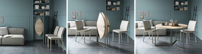 Icaro Table Folded and Open