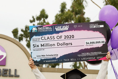 The Taco Bell Foundation is awarding $6 million in scholarships to passionate young students. All the application requires is a two minute video about how you'll use your passion to make a difference. No grades, essays or test scores.