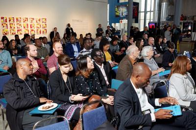 Une centaine de personnes participent au développement économique de Saint-Michel. (Groupe CNW/Ville de Montréal - Arrondissement de Villeray - Saint-Michel - Parc-Extension)