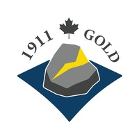 Logo: 1911 Gold Corporation (CNW Group/1911 Gold Corporation)