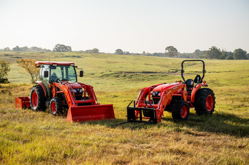 Kubota relaunches its entry-level utility tractor line, the MX Series, with more power, a roomy cab, and an affordable price. (CNW Group/Kubota Canada Ltd.)