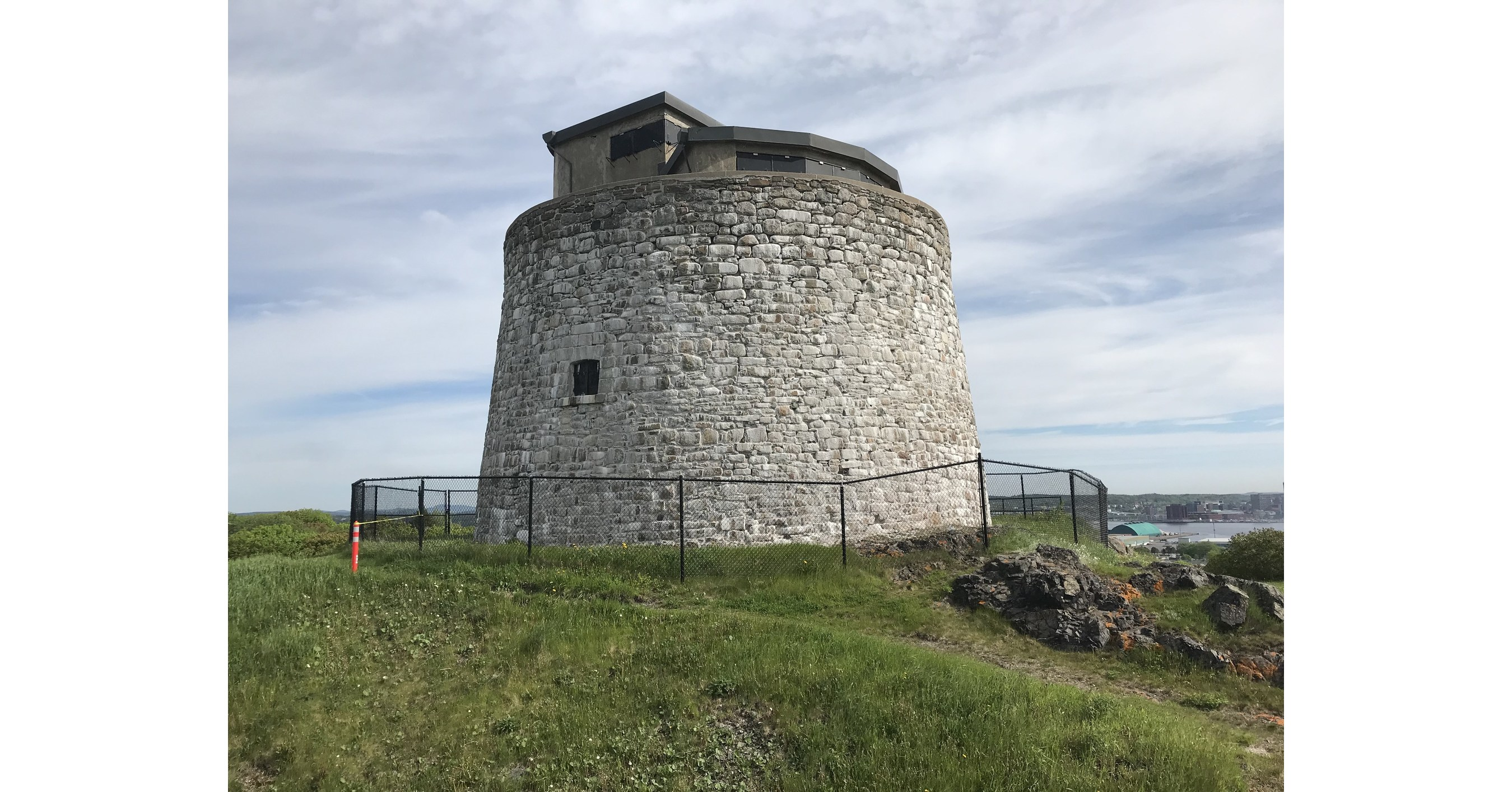 Carleton Martello Tower in Saint John New Brunswick to be restored by Groupe Atwill-Morin - Canada NewsWire