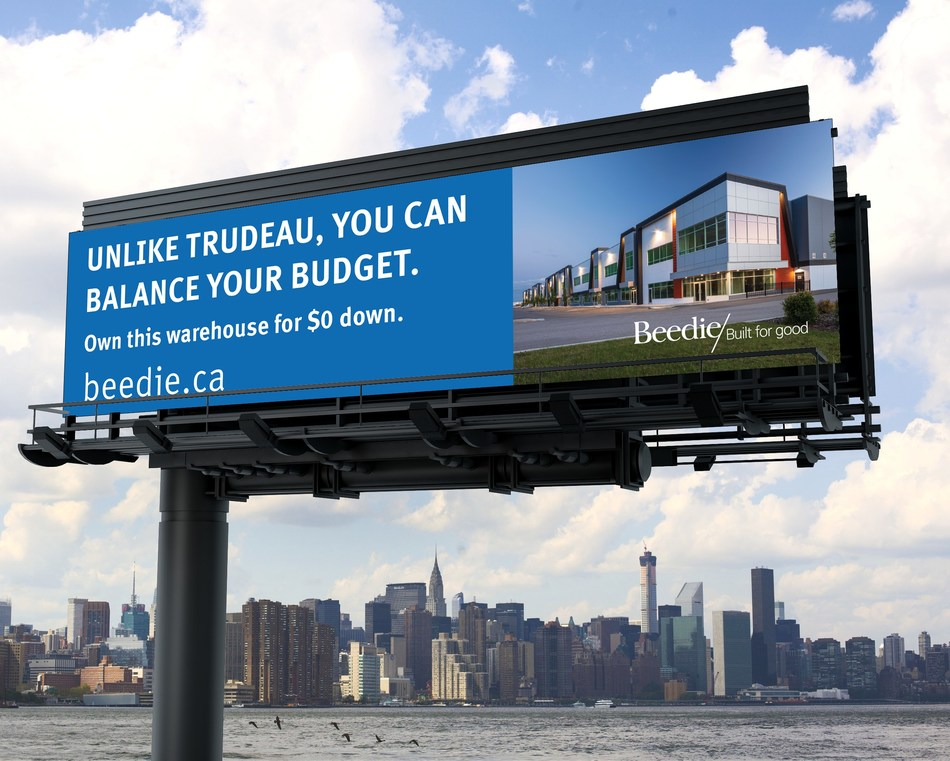 """Beedie launches """"Balance Your Budget"""" ad campaign in Calgary (CNW Group/Beedie)"""