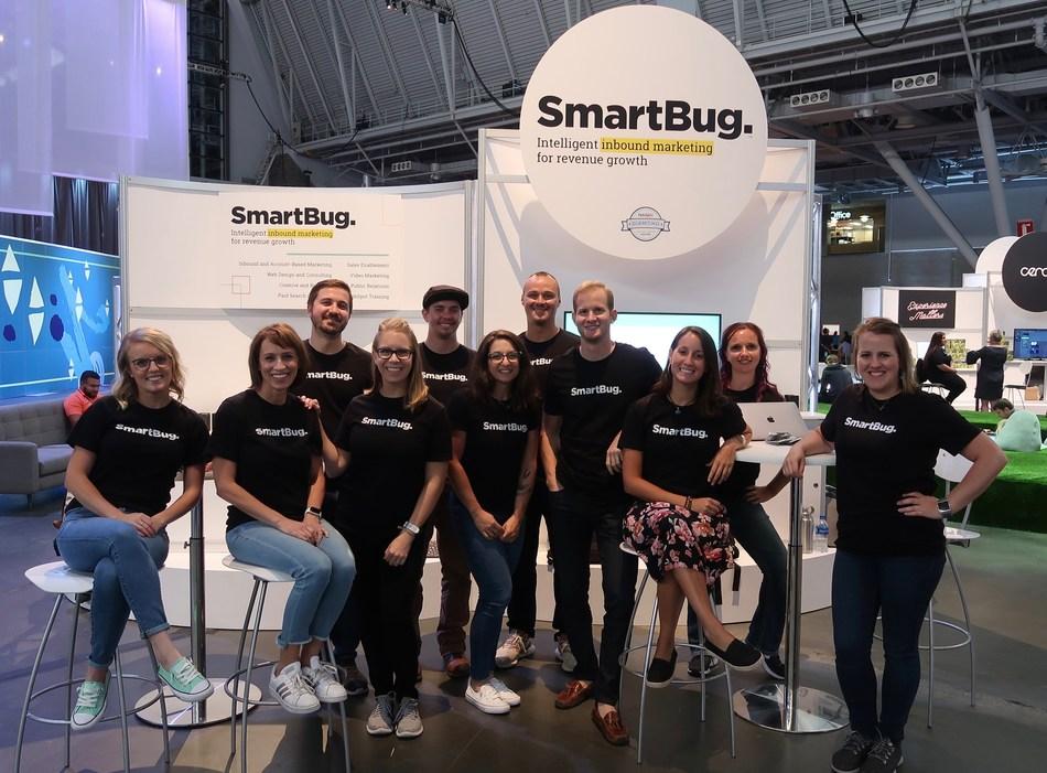 SmartBug Team members represent the company at Inbound 2019