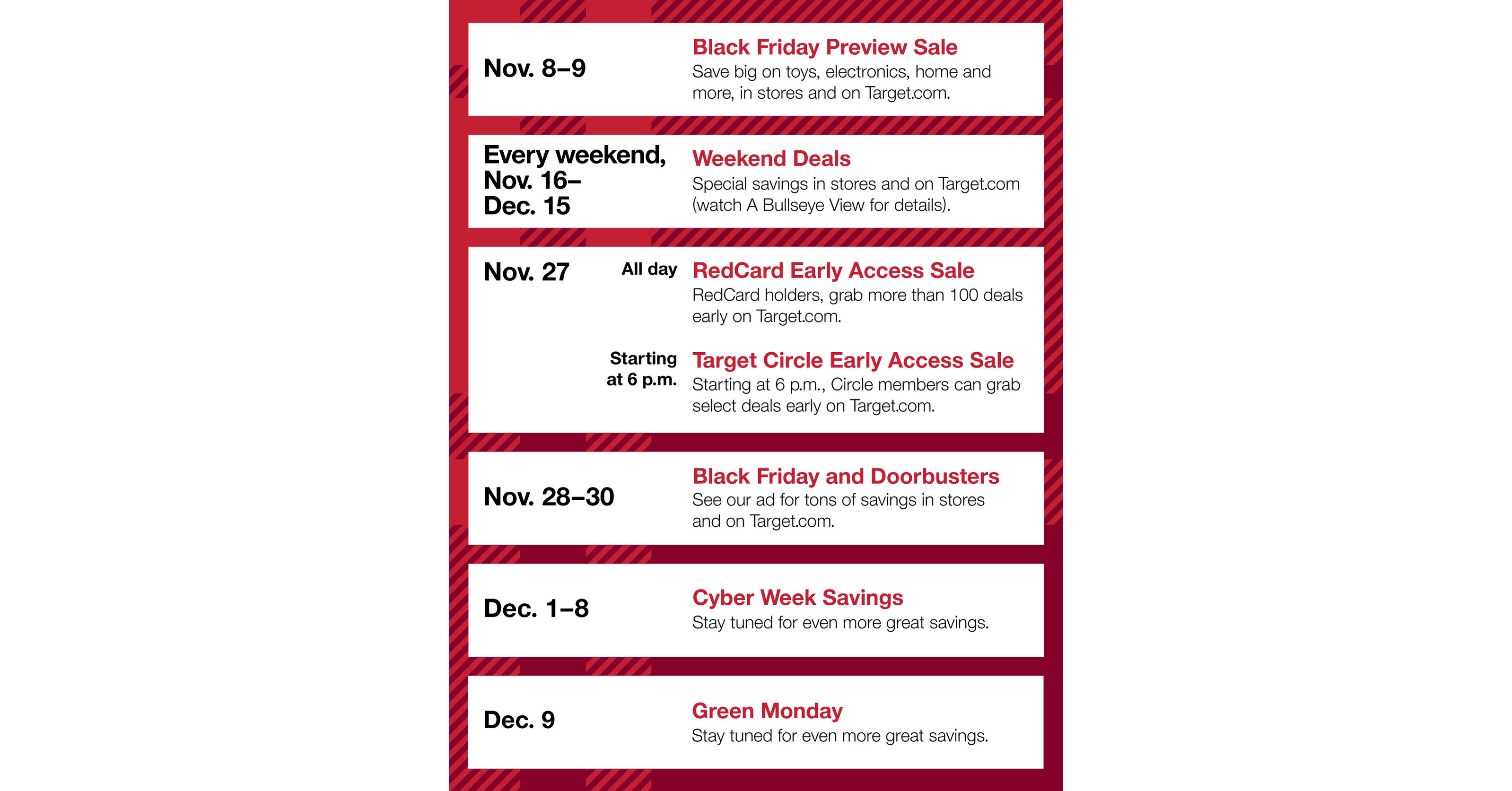 Target Introduces Holideals And Unveils Biggest Black Friday Yet With Two Day Preview Sale And Expanded Early Access