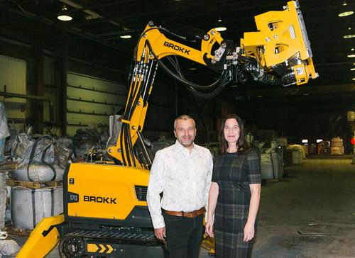 Martin Robichaud and Angélique Salvas, associates (CNW Group/GSR Construction Decontamination)