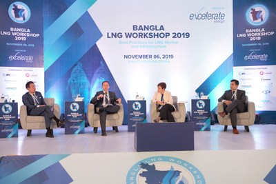 Panel discussion at the Bangla LNG Workshop 2019 hosted by Excelerate Energy in Dhaka.