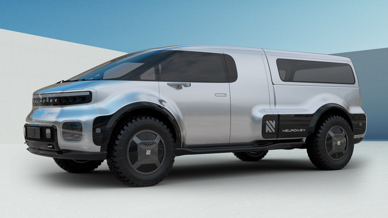 NEURON EV T-ONE Exterior. Copyright © 2019 Neuron EV. All rights reserved.